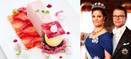 Victorias och Daniels bröllopsdessert - recept