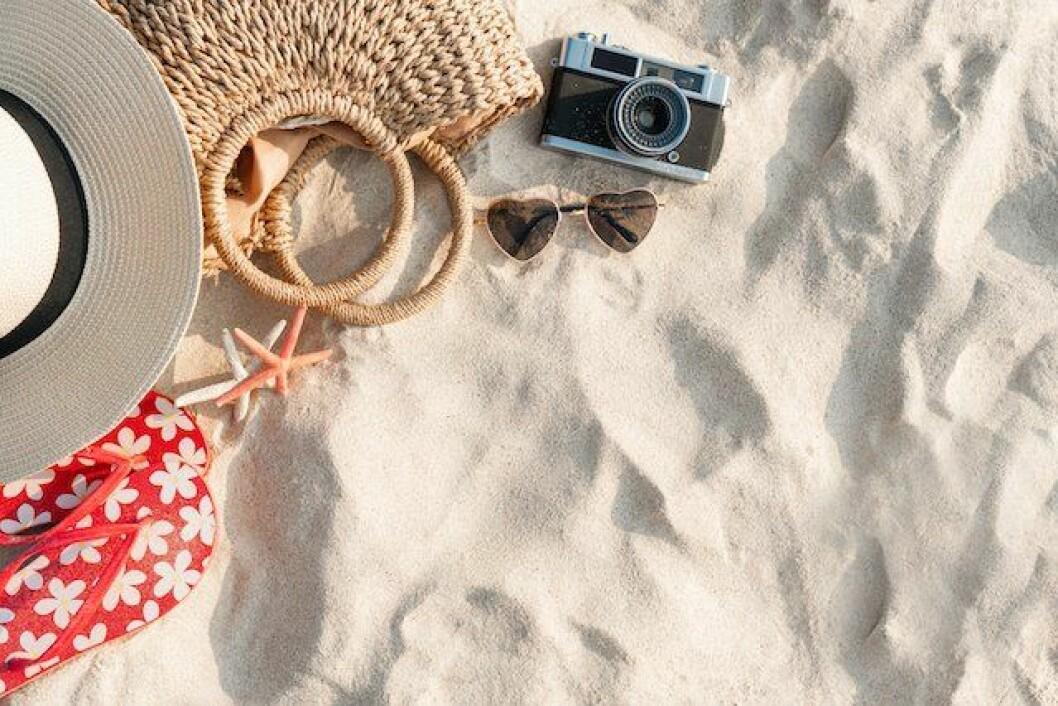Packlista för en dag på stranden med barnen. Foto: Shutterstock / Opat Suvi