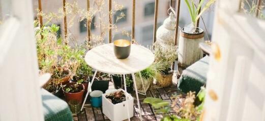 4 tips – Så inreder du en mysig balkong