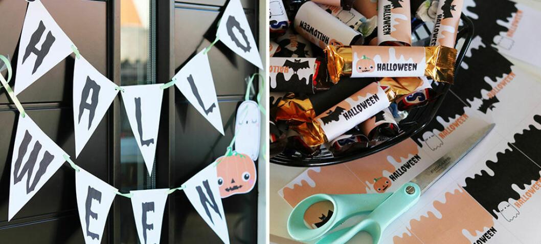 Halloweenpyssel för en ryslig familjefest - Kreativa Karin tipsar!