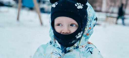 Så undviker ditt barn torr hy i vinter – experten tipsar