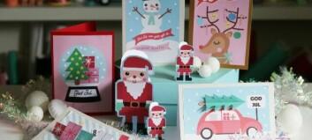Sprid glädje till nära och kära med ett julkort