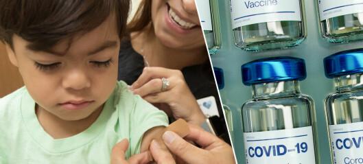 Pfizer testar coronavaccin på 5-åringar – så skiljer sig dosen