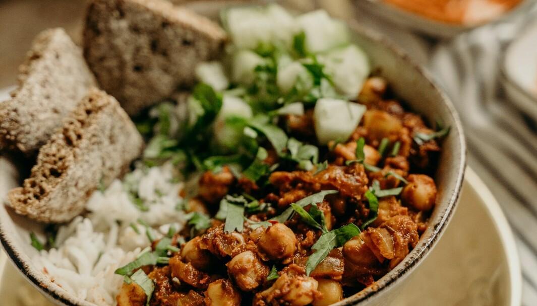 Vegetarisk chili sin carne - enkelt och gott!
