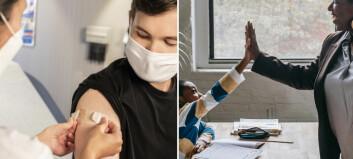 Vaccinkrav på arbetsplatser: