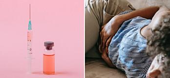 Rapporter om mensrubbningar efter vaccination mot covid-19